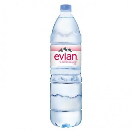 Bouteille Eau Evian 1,5l
