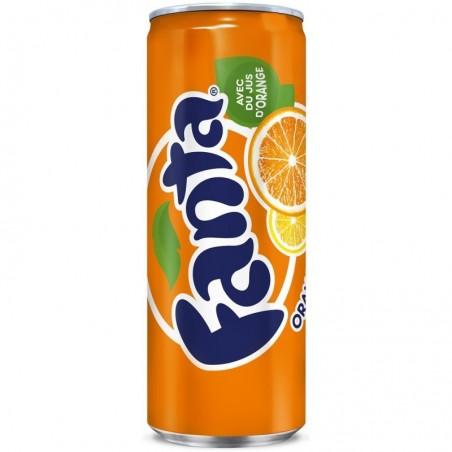 Canette Fanta Orange 33cl