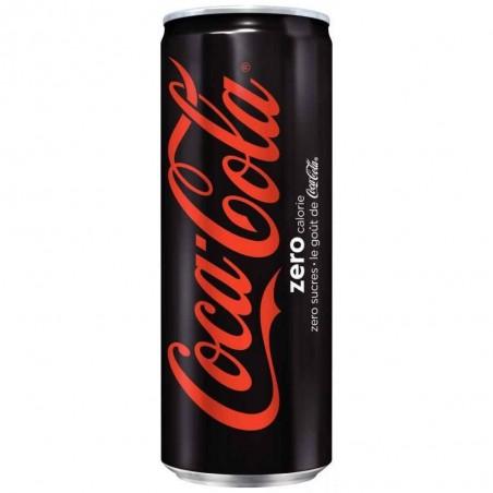Canette Coca Cola Zero 33cl